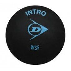 Dunlop 3 pack of Intro Squash Balls