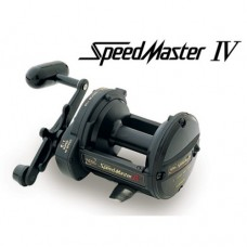 """Shimano Speed Master IV Reel and 7"""" Aqua Tip Boat Rod and Reel Combo"""